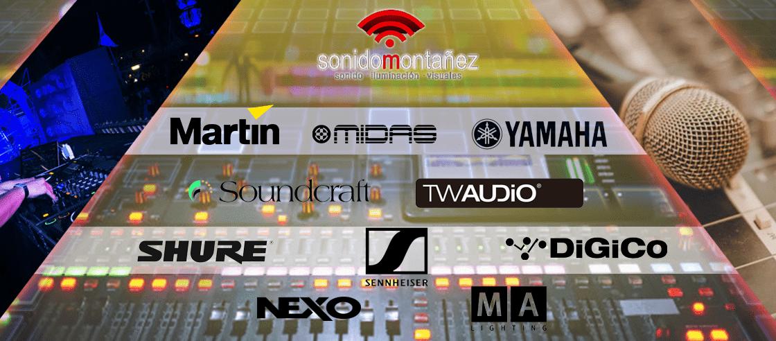 marcas equipos audiovisuales